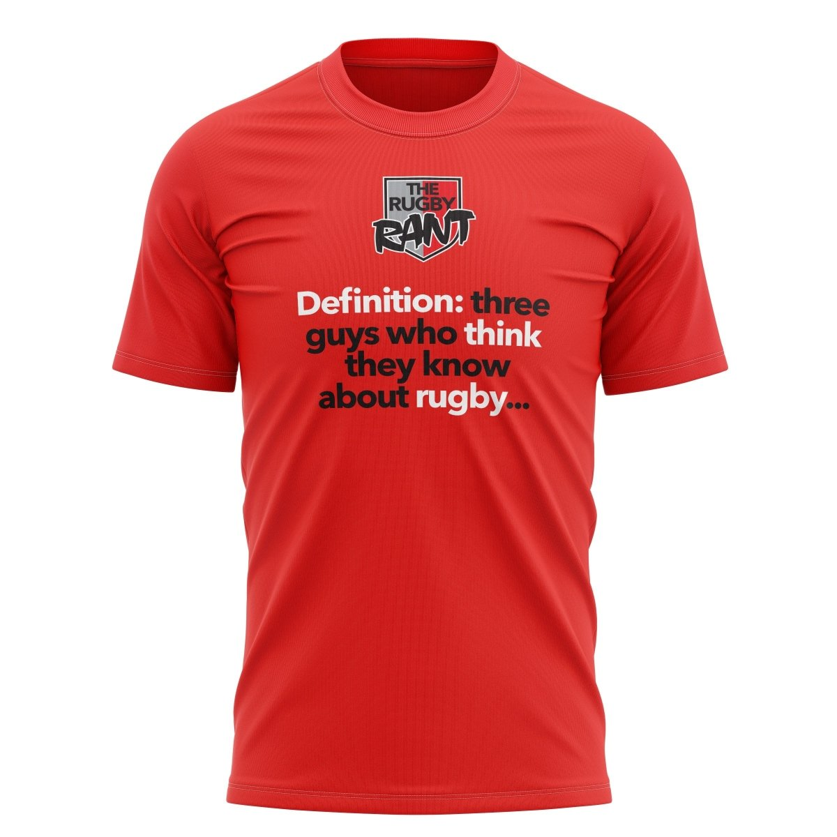 "The Rugby Rant ""Definition"" Tee - Unisex - www.therugbyshop.com"