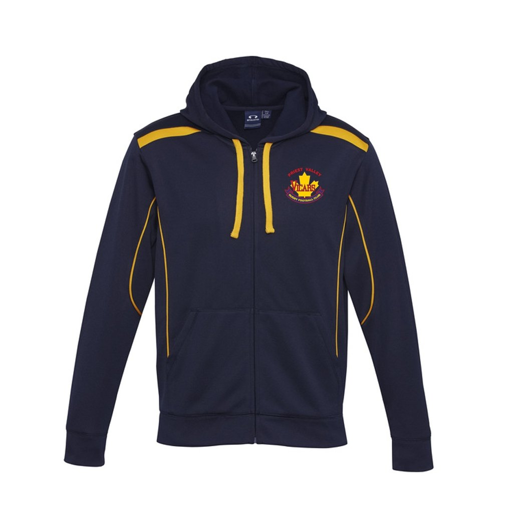 Vicars Biz Collection Zipped United Hoodie - www.therugbyshop.com