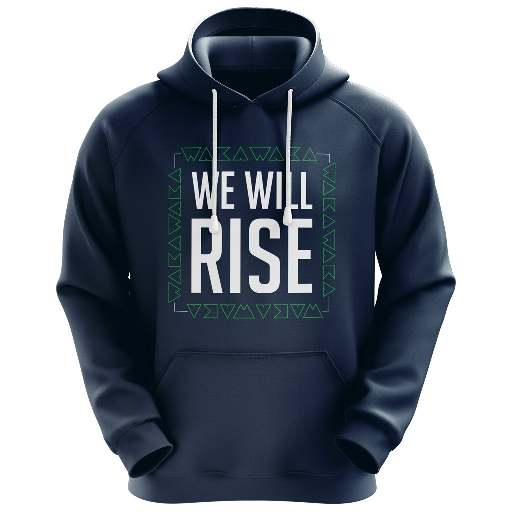 "WAKA ""We Will Rise"" Hoodie 4 - Unisex - www.therugbyshop.com"