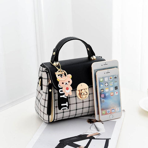 YESSTYLE™ 2019 Brand New Arrival Pu Leather Women HandBags Female Solid Fashion Shoulder Bag Vintage Small Messenger Bags For Women XB014