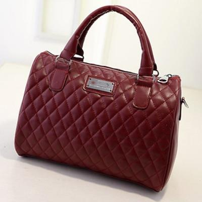YESSTYLE™ 2019 New Pattern Women Shoulder Bag Fashion Diamond Leather Handbags Vintage Pillow Luxury Bag Messenger Clutch Ladies Bag