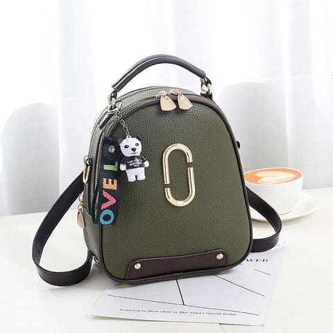 YESSTYLE™ 2019 Good Quality 2019 Sequined Casual Shoulder School Bag Women Pu Leather Ladies Women Brand Bags Fashion Mini Backpack
