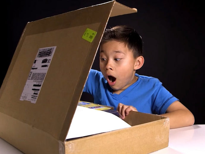 Unboxing Videos: The cheapest way to amuse your children without buying them crap.