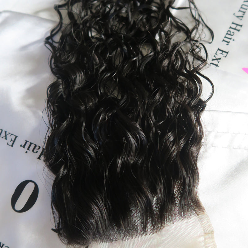 Raw Indian Curly Lace Closure