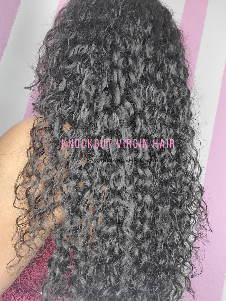 Raw Indian Curly Individual Bundle