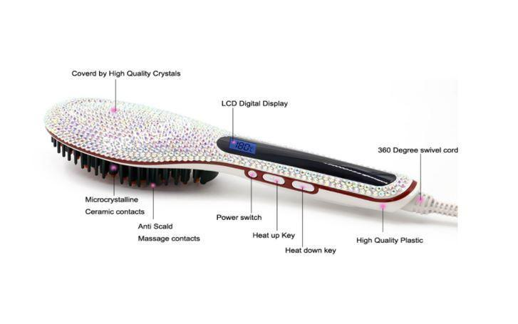 Crystal Straightening Hot Brush