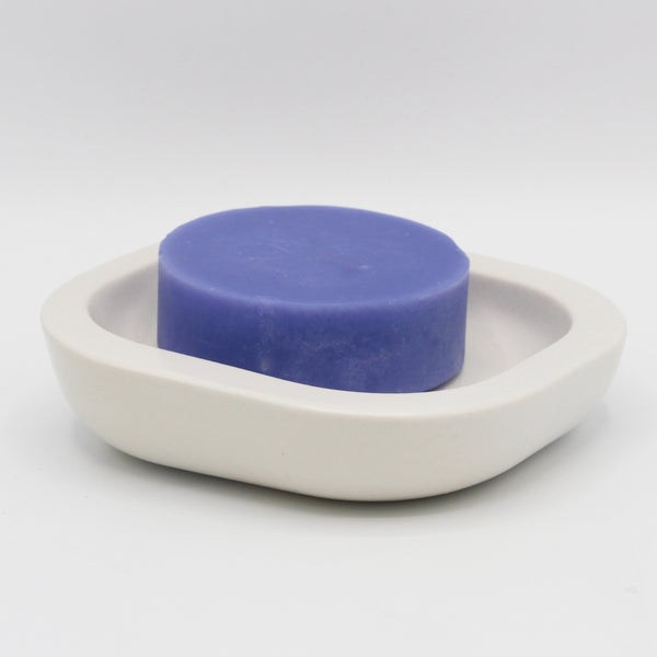 White Tubby Soap Dish