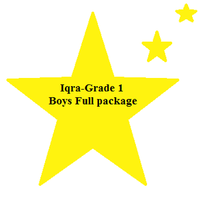 Iqra 1st Std Boys Compulsory Package