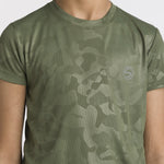 Pack of 2 Dry fit Army Camo Tees (Black & Green)