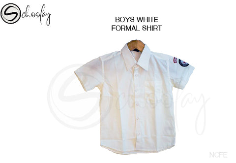 NCFE Boys Shirt - White (6-12th Std)