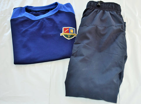 Iqra-Grade(1-4) Girls Sports set (Full Sleeve T-Shirt & Track Pant)