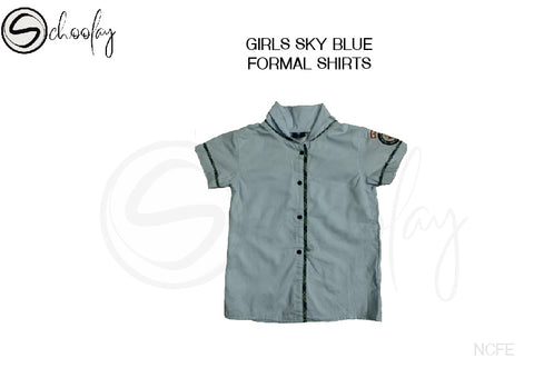 NCFE Girls Shirt - Sky