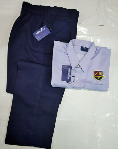 Iqra-Grade(5-10) Boys Regular Uniform(Shirt & Full Trousers) set