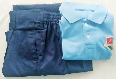 IJ-Boys Regular Uniform(T-shirt & Trousers)Set
