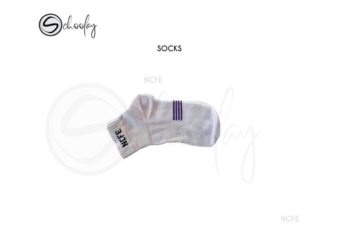 NCFE White Socks