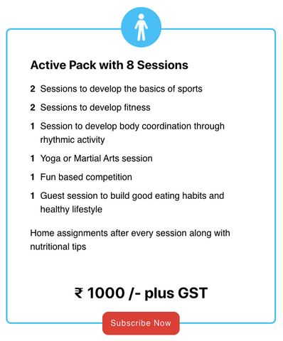 Active Pack With 8 Sessions