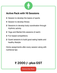 Active Pack With 16 Sessions