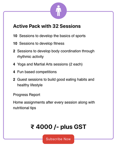 Active Pack With 32 Sessions