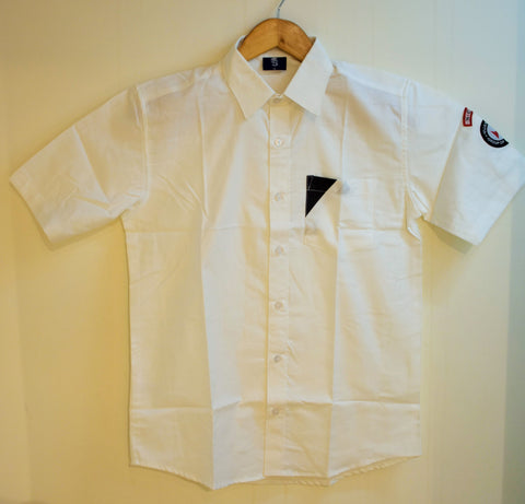 NCFE Boys Shirt - White