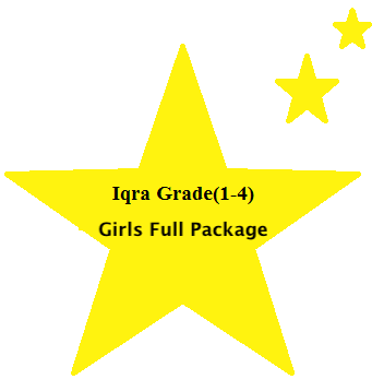 Iqra-Grade(1-4) Girls Full Package