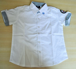ICE Boys Shirt White (Prep-Grade V)