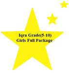 Iqra-Grade(5-10) Girls Full Package