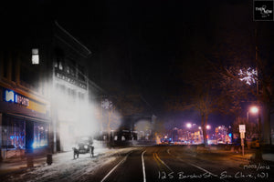 Then & Now Art®: 12 S. Barstow St. - Eau Claire, WI [1900's/2012]