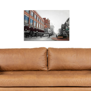 Then & Now Art®: 300 Block - Wausau, WI [1940's/2012]