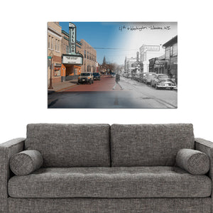 Then & Now Art®: 4th & Washington Street - Wausau, WI [Unknown/2019]