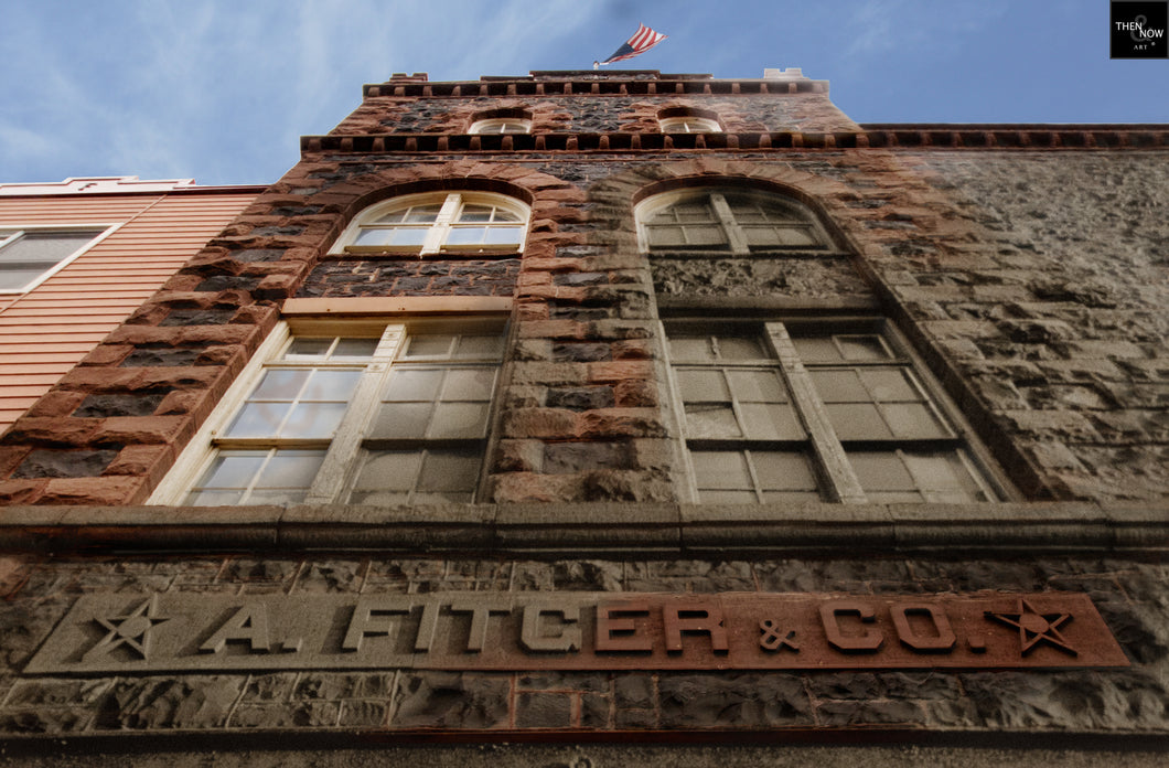 Then & Now Art®: Fitger Brewery #1 - Duluth, MN [1900/2012]