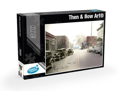Then & Now Art®: Bayfield, WI - 500 Piece Jigsaw Puzzles