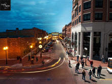 Then & Now Art: Day to Night - Wausau, WI