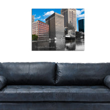Then & Now Art®: Downtown Milwaukee - Milwaukee, WI [1915/2013]