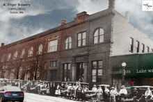 Then & Now Art®: Fitger Brewery #2 - Duluth, MN [1900's/2012]