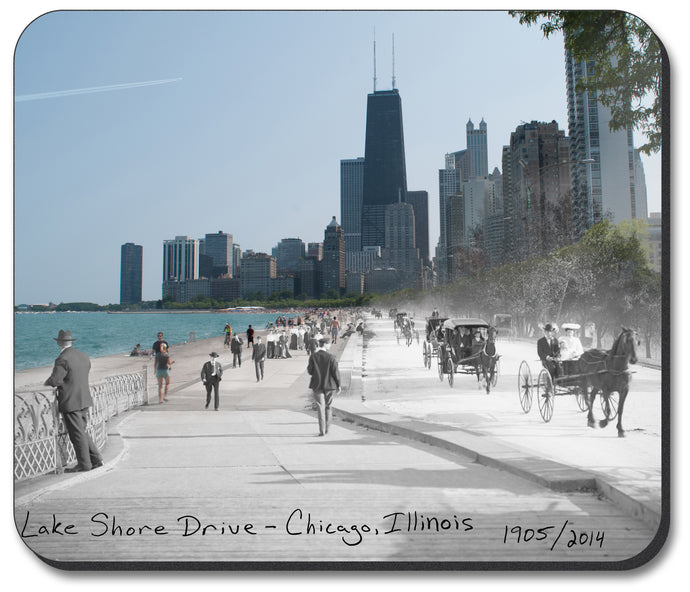Mousepads - Chicago Collection