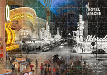 Then & Now Art®: Las Vegas, NV - 500 Piece Jigsaw Puzzle