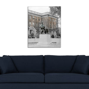 Then & Now Art®: Lincoln Monument - Madison, WI [1928/2012]