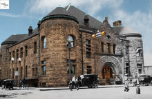 Then & Now Art®: Mabel Tainter Theater - Menomonie, WI [1900/2012]