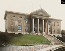 Then & Now Art®: McDonnell High School - Chippewa Falls, WI [1900's/2012]