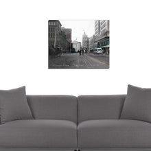 "Then & Now Art®: Wisconsin Ave - ""Muddy Street"" -Milwaukee, WI [1901/2013]"