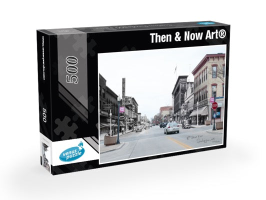 Then & Now Art®: Sheboygan, WI - 500 Piece Jigsaw Puzzles