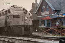 Then & Now Art®: The Depot - Wausau, WI [Unknown/2019]
