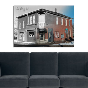 Then & Now Art®: The Glass Hat - Wausau, WI