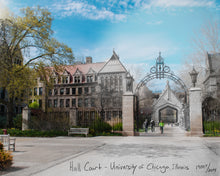 University of Chicago - 3pc Canvas Set