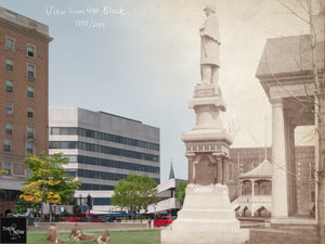 Then & Now Art®: View From 400 Block - Wausau, WI [1888/2019]