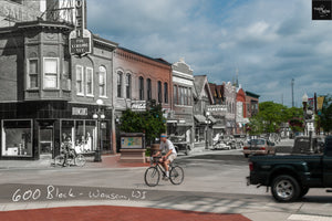 Then & Now Art®: 600 Block - Wausau, WI [1940's/2012]