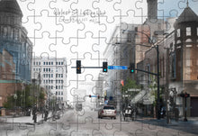 Then & Now Art®: Green Bay, WI - 500 Piece Jigsaw Puzzles