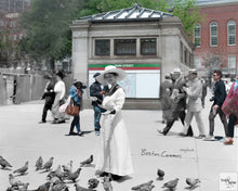 Then & Now Art®: Boston Common - Boston, MA [1910/2017]