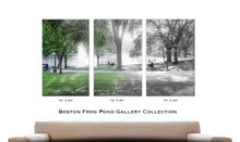 Then & Now Art®: Frog Pond - Boston, MA [1899/2017]