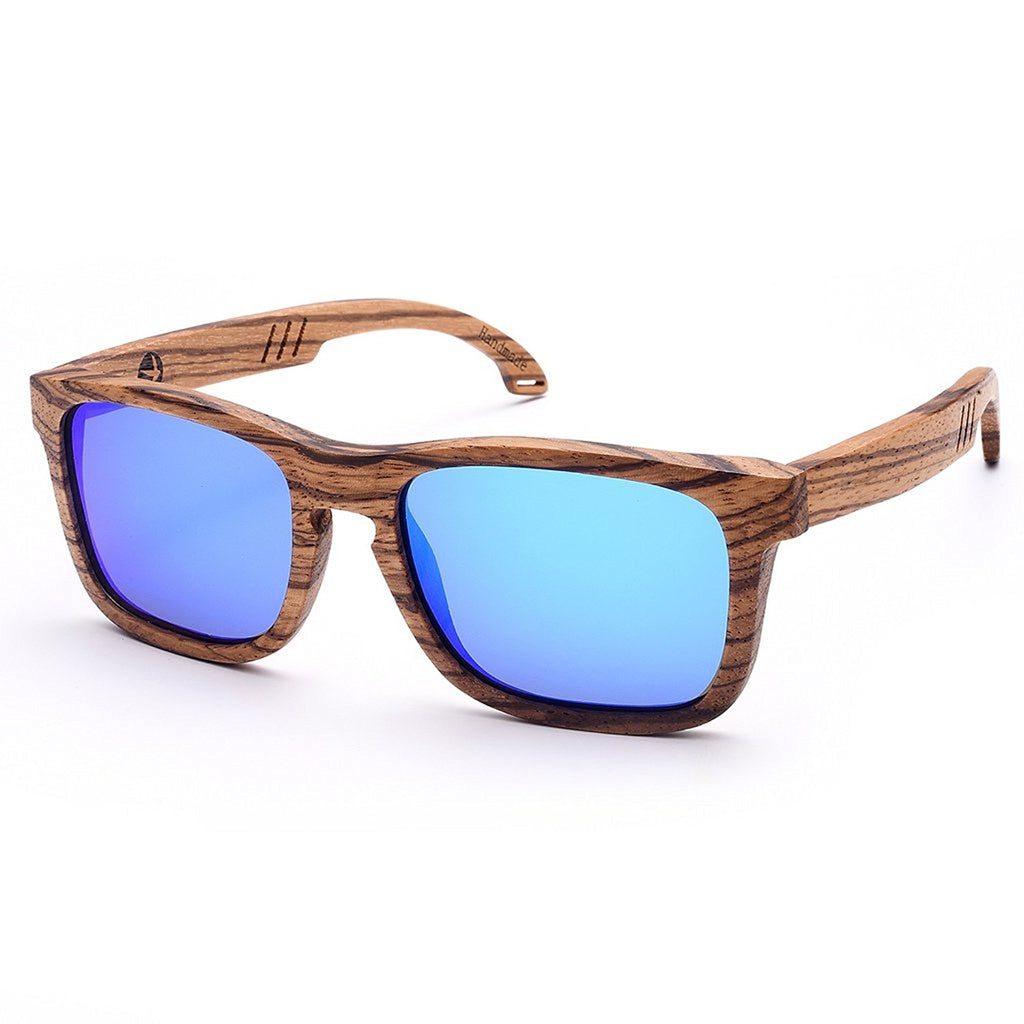 Bamboo Sunglasses with Polarized lenses-Handmade Floating Wood Shades for Men&Women